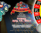 Buy Announcements - Personalized Casino Poker Games Birthday Party Invitations