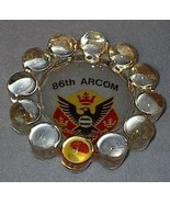 86th Arcom Cigarette Tobacco Glass Ash Tray - $7.95