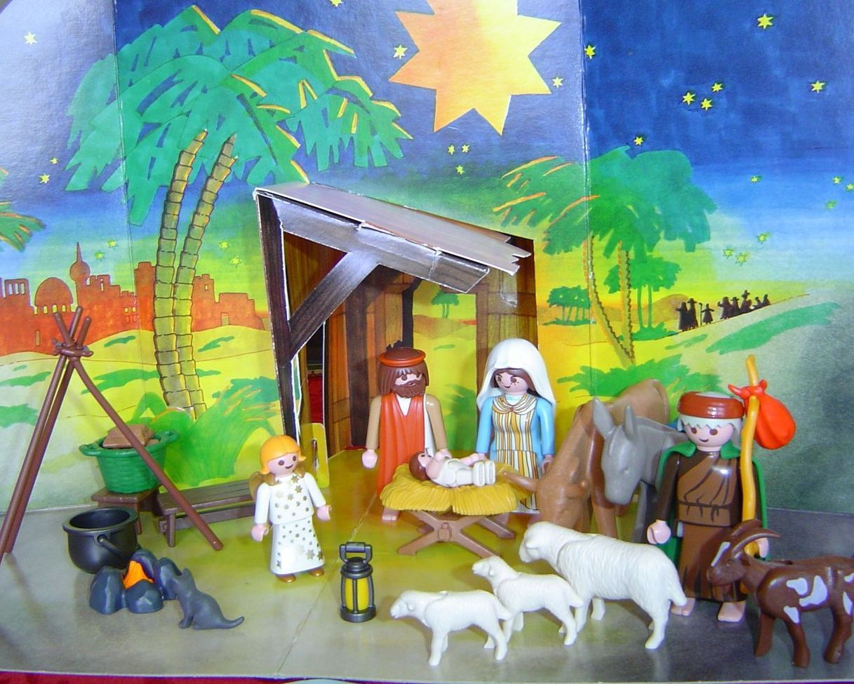 Playmobil Christmas Children's Nativity Set 3367 2001