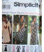 Simplcity 9603 OOP Unused Womans 6 to 10 Design... - $7.95