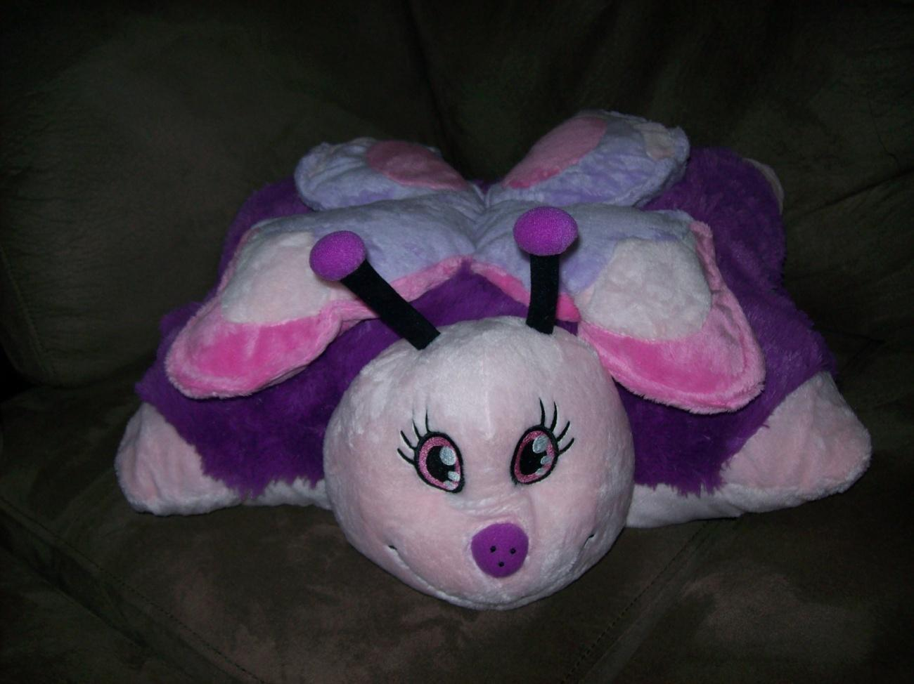 My Pillow Pet Pink Butterfly