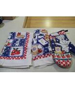 Pillsbury Doughboy Kitchen Towel and potholder lot of 16 ite - $10.99