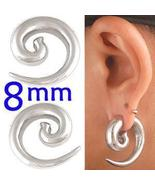 0g gauge Steel Spiral Ear Plugs stretcher pierc... - $128.00