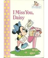 I Miss You Daisy Walt Disney Hardcover Book 1991 - $9.99