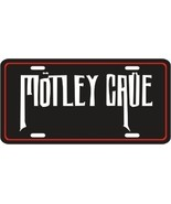 MOTLEY CRUE METAL LICENSE PLATE MUSIC TAG - $7.95