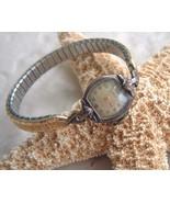 Vintage Lorie Wrist Watch Speidel Stretch Band ... - $14.95