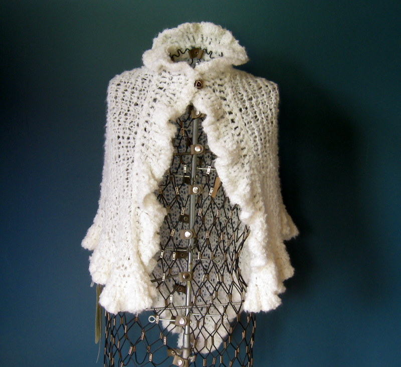 Snowdrift Wedding Shawl
