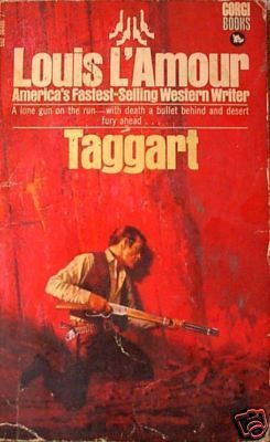 TAGGART, Louis L'Amour, UK pb 1977
