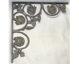 "Buy shelf brackets - 14.5"" Rose Victorian Cast Shelf Brackets Corbels"