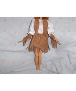 4 Pc Western Style Faux Suede Fringed Outfit fi... - $5.95