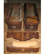National Sewing Machine Antique Drawers Set Of 3 - $20.00