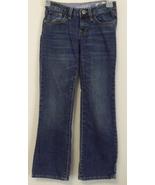 Girls Gap Kids Denim Blue Boot Cut Jeans Size 8 - $8.00