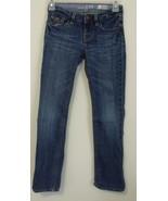 Girls Gap Kids Denim Blue Straight Leg Jeans Si... - $8.00