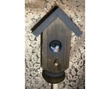 Buy GARDEN STAKE- Bird house theme/ from old porch post
