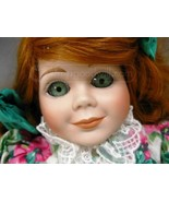 Porcelain Doll with Green Eyes - $12.00