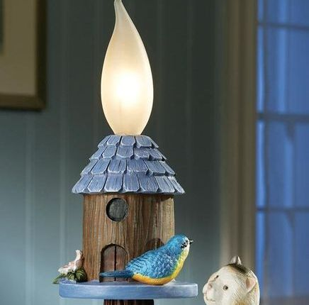 Image 1 of Bluebird And Cat Outdoor Lighting