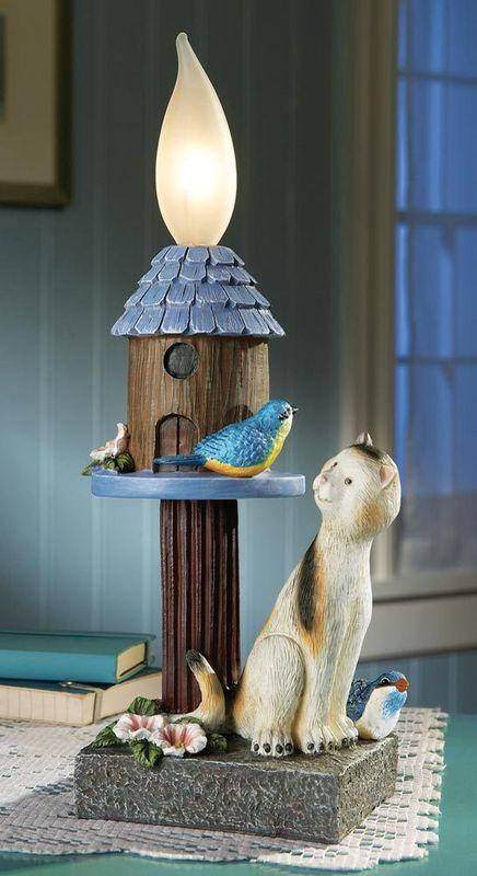 Image 2 of Bluebird And Cat Outdoor Lighting