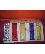 * Gold Ribbon wire shimmering MESH weave 2