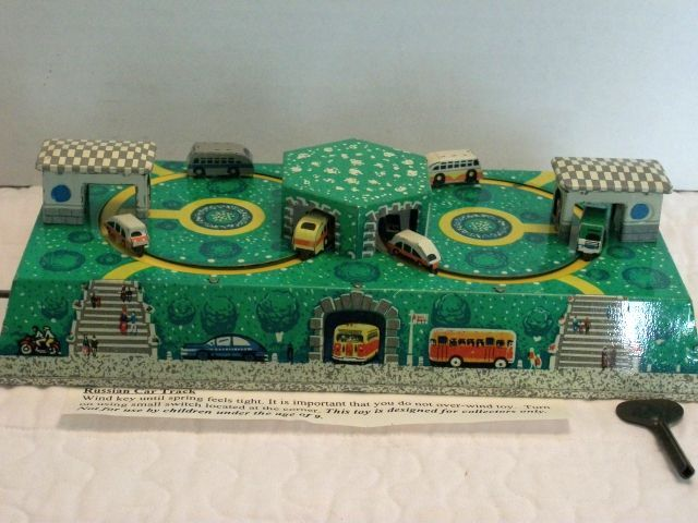 Schylling Collector Series Tin Toys-Car Track