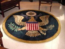White House Great Seal Presidential Rug - Great Gift!