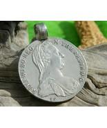 Thaler Coin Pendant Maria Theresia Austria Ster... - $84.95