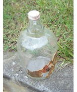 Antique coca cola gallon syrup glass jug with lid - $25.00
