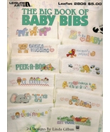 Big Book of Baby Bibs Cross Stitch Patterns - $1.95