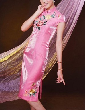 Chinesedress-pinkflower