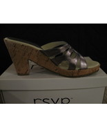 WOMAN SHOES, RSVP (PERRIE) Golden Pewter, Sizes... - $10.00