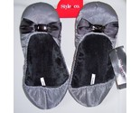 Buy men's slippers - NEW Style & Co Grey Satin Womens Slippers ~ Size MEDIUM