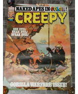 Creepy #95 Monster Magazine Poster 1977 - £15.79 GBP