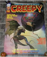 Creepy #75 Monster Magazine Poster 1976 - £17.43 GBP