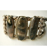 Vintage Navajo Bracelet with Picture Agate - $575.00