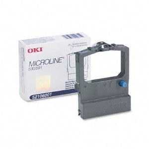 OKI Microline 52107001 Ribbon Black Cartridge - Lot of 2