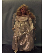 Heritage House Ceramic Angel Doll missing tipTh... - $8.99