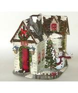 Kohls Metal House Christmas Lamp Candle Holder ... - $18.00