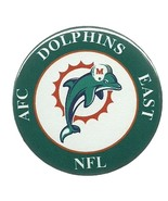 Miami Dolphins NFL AFC Football Button or Magnet  - $2.29