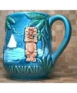 Vintage Souvenir Hawaii one Mug with a Tiki, Pa... - $11.00