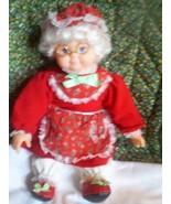 Mrs. Santa Doll by Santa's Best, Reninoc Animat... - $9.00
