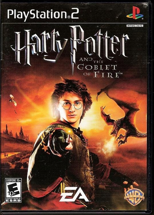 Harry Potter and the Goblet of Fire EA Sony PlayStation 2