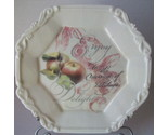 Buy Decorative Plant Stands - Plate Decorative Apple Fruit Plate 8 x 8 with stand