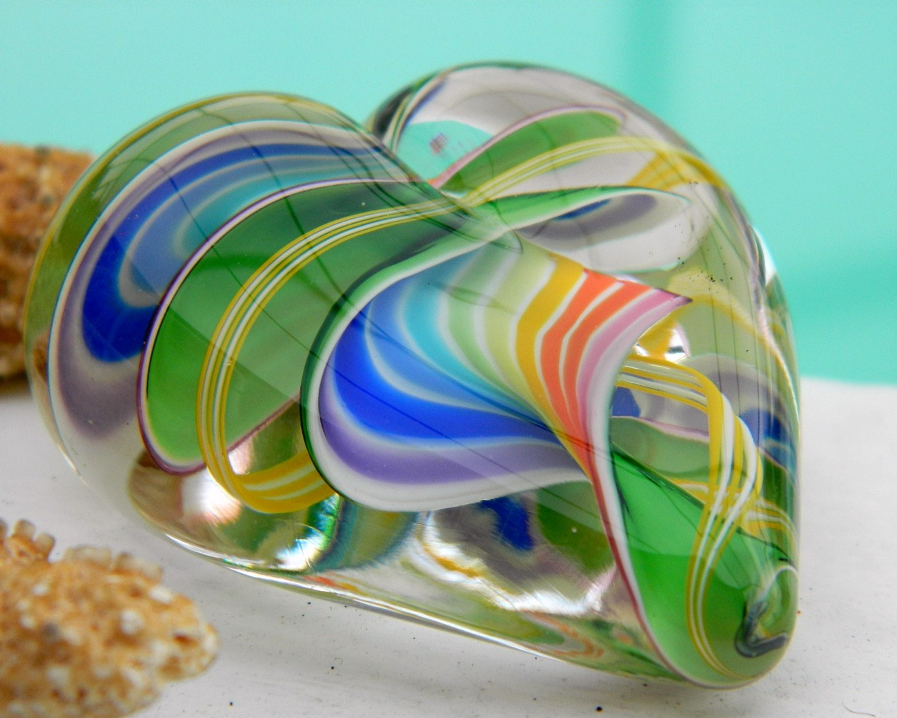 Glass_heart_paperweight_multicolor_glass_eye_studio