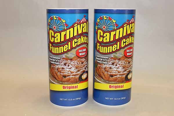 Funnel Cake Mix - Lot of 2 - makes 24 cakes