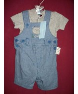 First Impressions 2 Piece Boys Set 3-6 months nwt  - $13.66