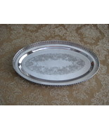 Vintage Sheffield Reproduction Wine Tray  - $16.26