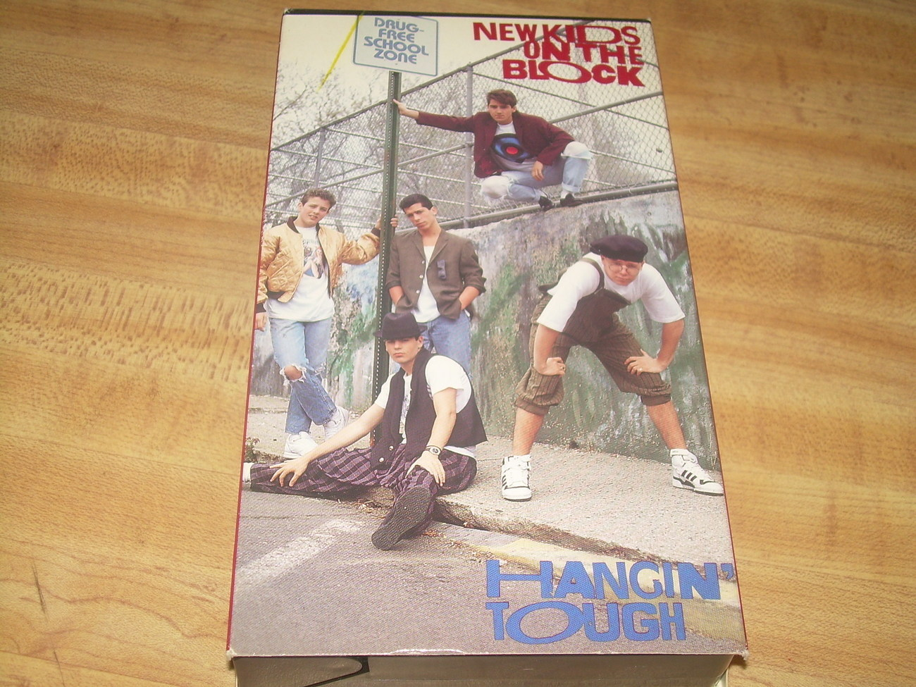 New Kids On The Block Hangin&#39; Tough VHS