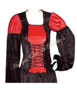 Dress Gown Costume Renaissance Medieval Goth La... - $99.99