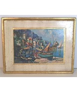 Vintage Florentine Wall Art Print on wood plaqu... - $24.50