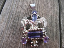 VintageTaxco Mexico sterling silver amethyst Pe... - $150.00