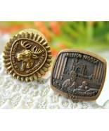 2 Vintage Order Moose Lapel Pin Mooseheart Moos... - $14.95